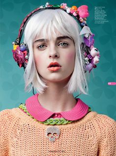 Funky Bunny - Cosmo Girl by Martin Sweers, via Behance