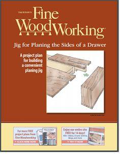 Ah! E se falando em madeira...: FW - Gabarito para gavetas, PDF no blog