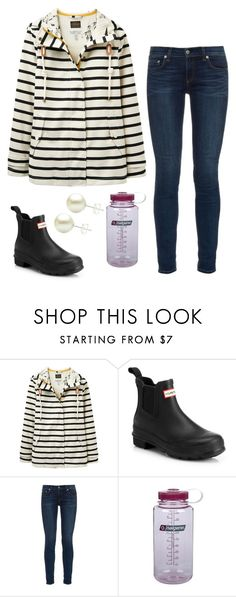 """""""Just got back from snow camping"""" by classygrace ❤ liked on Polyvore featuring Joules, Hunter, rag & bone and Nalgene"""