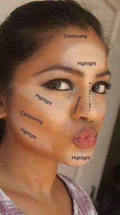 Have you heard of makeup contouring? It is a process of Haben Sie von Makeup Contouring gehört? Es ist ein Prozess des Hervorhebens, Bronzins … – Make-up Geheimnisse Have you heard of makeup contouring? It& a process of highlighting, bronze … have - Beauty Guide, Beauty Hacks, Beauty Advice, Beauty Makeup Tips, Beauty Ideas, Beauty Solutions, How To Contour Your Face, Contour Face, Contour Kit