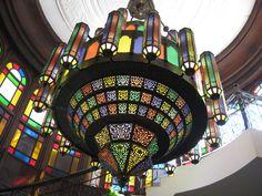 Arabic style chandelier