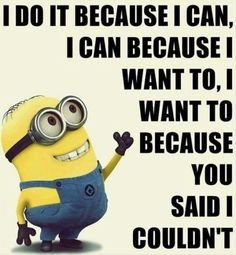 Quotes for Fun QUOTATION - Image : As the quote says - Description Top 97 Funny Minions quotes and sayings 78 Sharing is love, sharing is Humor Minion, Funny Minion Memes, Minions Quotes, Funny Jokes, Funny Sarcastic, Funny Insults, Hilarious Quotes, Hilarious Animals, Sarcastic Quotes