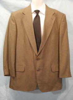 Details about Lauren By Ralph Lauren Men's Sport Coat Size 44 ...