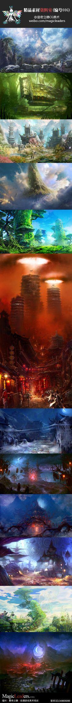 Click on image to enlarge....  【精品素材资料室(编号006)】剑灵最新场景设定赏析。