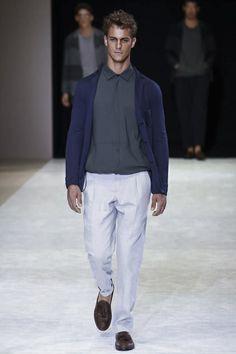 Giorgio Armani Menswear Spring Summer 2015 Milan