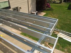 Goodbye Wood Deck Framing… Hello Steel Deck Framing-DeckAdvisor.com