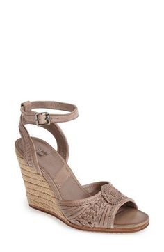 Frye 'Patricia - Concho' Wedge Sandal (Women) available at #Nordstrom