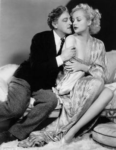 John Barrymore and Carole Lombard in one of the funniest movies ever made: TWENTIETH CENTURY