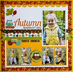 #DoodlebugDesign Happy Harvest Class by Jodi Wilton for the #ScrappingNook contact the store for your full class kit http://www.thescrappingnook.com/contact-us/