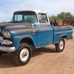 old pickup trucks Mb Truck, Gmc Pickup Trucks, Classic Pickup Trucks, Jeep Pickup, Chevrolet Trucks, Pickup Camper, Chevrolet Silverado, Lifted Trucks, Cool Trucks