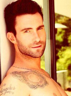 Adam Levine....holy crap!! What a beautiful man!!