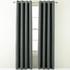 Studio Luna Grommet Top Blackout Curtain Panel Oxide