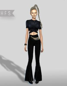 Sims 4, Pants, Dresses, Fashion, Trousers, Fashion Styles, Women Pants, Women's Pants, Dress