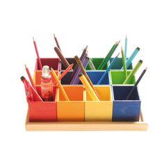 Sorteer hulp pennen bakjes