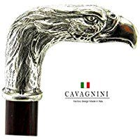 Cavagnini ''Bird'' decorative walking stick hand made in Italy