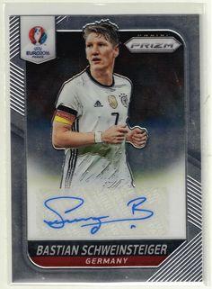 2016 Panini Prizm UEFA Euro Soccer Bastian Schweinsteiger Auto Card - Germany #Germany