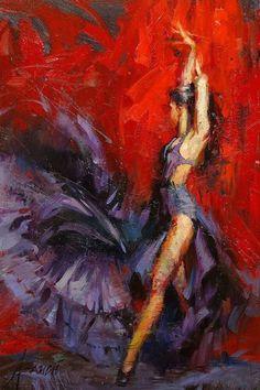 Flamenco? Superb movement