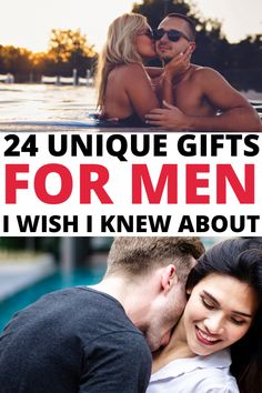 Unique Gift ideas for men who have everything and want nothing. These awesome Christmas ideas for guys who have everything will make holiday shopping stress free and fun so be sure to check out these cool gifts for hard to buy for men! #christmasgifts#giftsforhim#giftsforhusband Unique Gifts For Him, Gifts For Husband, Cool Gifts, Romantic Anniversary, Christmas Fun, Holiday, Everything Is Awesome, Birthday Presents, Stress Free