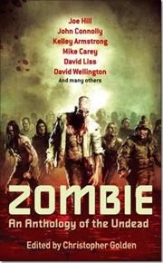 Zombie af Christopher Golden, ISBN 9780749953379