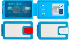 LockBox - The Portable Waterproof Safety Box Wallet