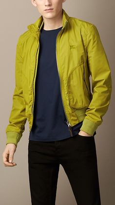 Burberry Brit Lightweight Technical Blouson Great Mens Fashion b311cdff0