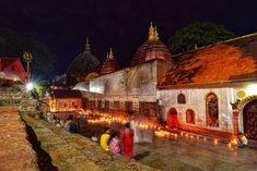 Kamakhya temple in Assam. One of the 51 shakti peethams. Hinduism, Taj Mahal, Temple, Building, Painting, Travel, Voyage, Buildings, Painting Art