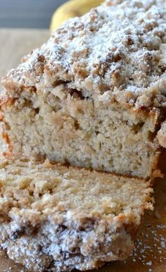 Cinnamon Crumb Banana Bread maybe an update to my traditional recipe