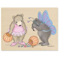 """""""Gruffies -Don't Cry Over Spill"""" from House-Mouse Designs®, featuring our Gruffies® / www.house-mouse.com - (OR1036). This item was recently purchased off from our web site. Click on the image to see more information."""