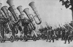 massive ear trumpets