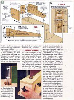 #2189 DIY Edge Sander - Sanding Wood