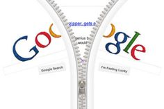 the inventor of the zipper, gideon sundback, is honored today with this interactive google doodle...   ZIPpitty-doo-dah;)...