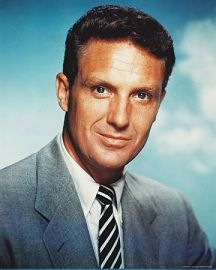 May 14th, 2003 - Robert Stack, American actor (b. 1919) died at 84.  Stack was a multilingual American actor and television host. In addition to acting in more than 40 feature films, he starred in the 1959–63 television series The Untouchables and later hosted {1987-2002} Unsolved Mysteries.  He underwent radiation therapy for prostate cancer in October 2002 and died of a heart attack in 2003.  He is interred in the Westwood Village Memorial Park Cemetery in Westwood, California.