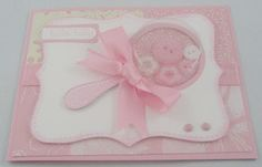 Stamp Set - Something Sweet, Teeny Tiny Wishes Card Stock - Whisper White… Birthday Cheers, Baby Shower Invitaciones, Baby Girl Cards, Baby Shawer, Baby Shower Cards, Shaker Cards, Baby Rattle, Welcome Baby, Handmade Baby