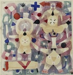 Paul Klee - Carnival in the Snow - 1923