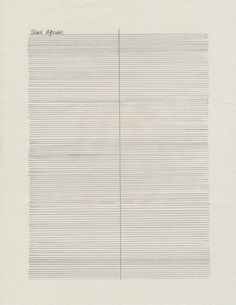 Tammi Campbell's ongoing series of silent letter/drawings to Agnes Martin     HTTP://CAMPBELLTAMMI.COM/