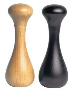<b>David Mellor</b><br/> This sleek and stylish, ceramic design is available in beech wood, natural and black. The simple style is perfect for the minimalist kitchen.<br/> <b>Price:</b> £33 each