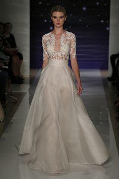 Reem Acra Bridal Spring 2016 - falling for this dress! Bridal Dresses, Wedding Gowns, Bridesmaid Dresses, Bridal Show, Bridal Style, Reem Acra Bridal, Dress Vestidos, Perfect Wedding Dress, Bridal Beauty
