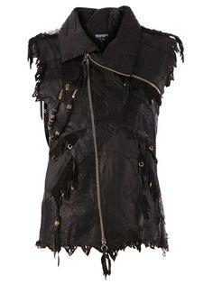 KD2024 Embellished Biker Vest
