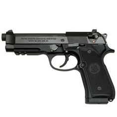 Beretta 92A1 - uses super common 9mm ammo. most common gun in the world, parts and ammo will be easy to find!