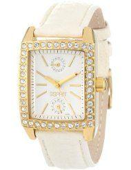 ESPRIT Women's Fame Gold Square Crystal Bezel Watch.  $74.99 & FREE Shipping.  Get them now at http://www.amazon.com/dp/B007R9W5BE/ref=as_li_ss_til?tag=gardeningbear-20=0=0=as4=B007R9W5BE=081RHQTS96W0RHKJV8CD