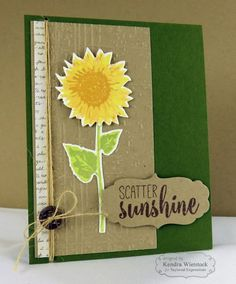 Taylored Expressions September Release: Simply Stamped Sunflowers!