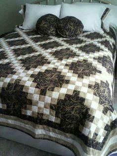 Tourquoise Irish Chain   Chains, Irish chain quilt and Patchwork : double irish chain quilt pattern free - Adamdwight.com