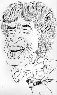 CARICATURAS DELBOY: MICK JAGGER