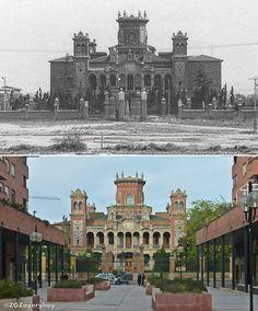 Ayer y Hoy Palacio de Larrinaga Zaragoza