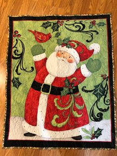 Quilts - GeeGeeGoGo Babies First Christmas, Little Christmas, Christmas Time, Christmas Gifts, Handmade Christmas, Christmas Stockings, Etsy Quilts, Halloween Blanket, I Love Mommy