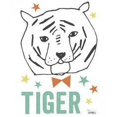 Tête de Tigre by Lizzie Mackay