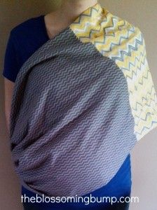 Crazy Easy DIY Infinity Nursing Scarf Tutorial - Another tutorial.  More helpful with knowing dimensions of fabric.
