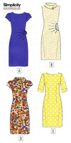 Universal Sewing dresses Cases! Ready-made patterns on 5 styles .. Discussion on LiveInternet - Russian Service Online Diaries