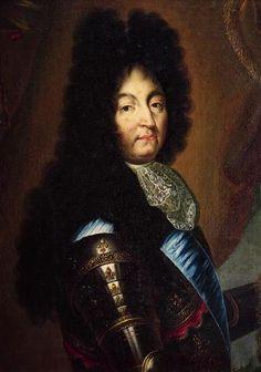 Lodewijk XIV (1638-1715) had zijn macht rechtstreeks van god gekregen = Droit Divin. Hij hoefde aan niemand verantwoording af te leggen. Omdat iedereen gelovig was, was het makkelijk om de macht te houden. De regel van Lodewijk XIV was Un roi, Une loi et une foi = Een god, een wet en een geloof. Tegen de koning ingaan = tegen god ingaan = naar de hel.