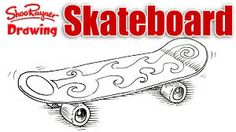 Image result for skateboard drawing pictures